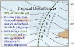 tropical disturbances