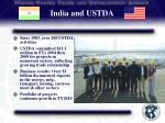 india and ustda