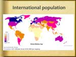 international population