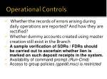 operational controls2