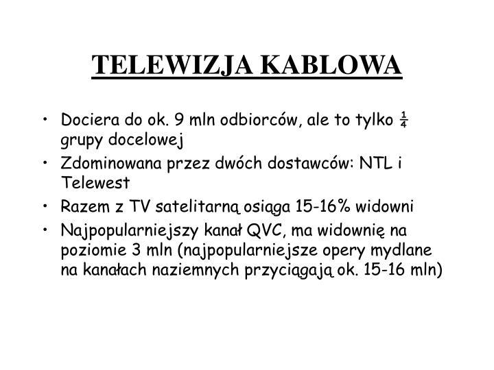 TELEWIZJA KABLOWA