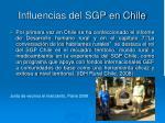 influencias del sgp en chile10