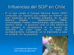 influencias del sgp en chile5