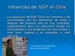 influencias del sgp en chile8