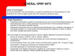 general hprp info