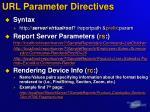 url parameter directives