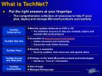 what is technet