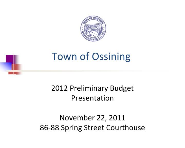 town of ossining n.