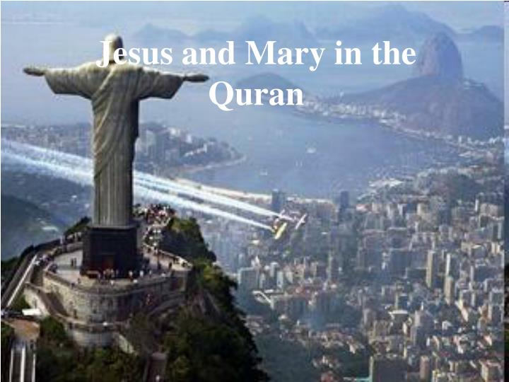 jesus and mary in the quran n.