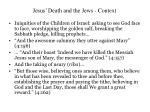 jesus death and the jews context