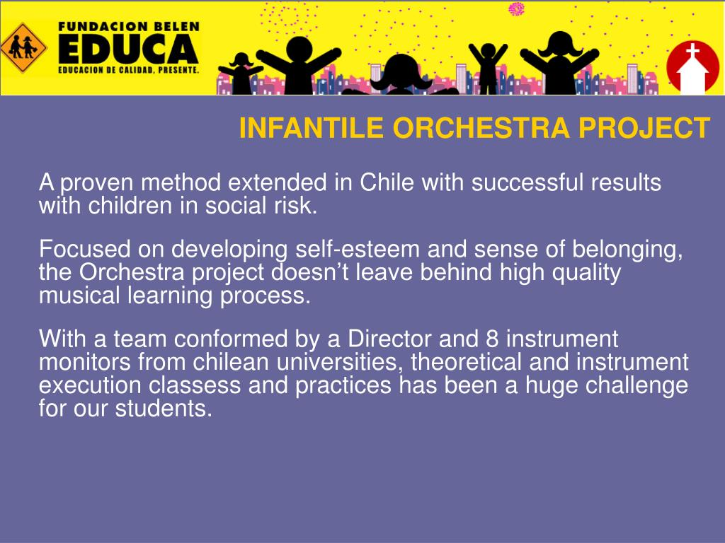 INFANTILE ORCHESTRA PROJECT