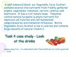 task 4 case study look at the drinks