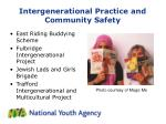 intergenerational practice and community safety