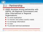 2 1 partnership