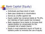 bank capital equity