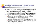 foreign banks in the united states