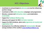 hcc objectives