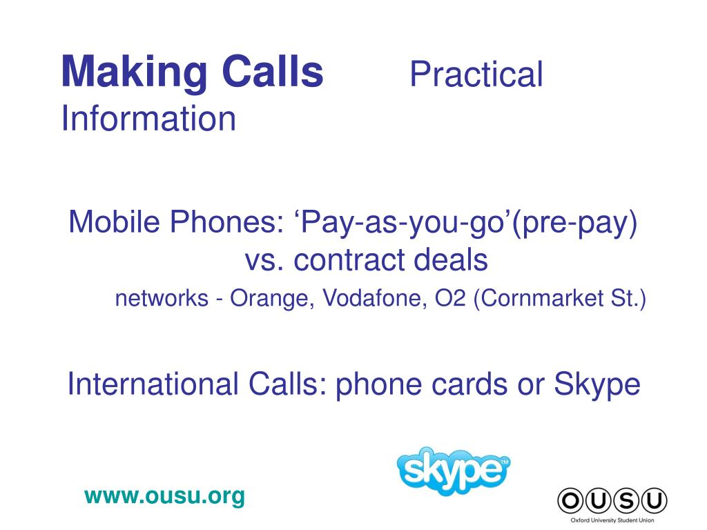 Making Calls