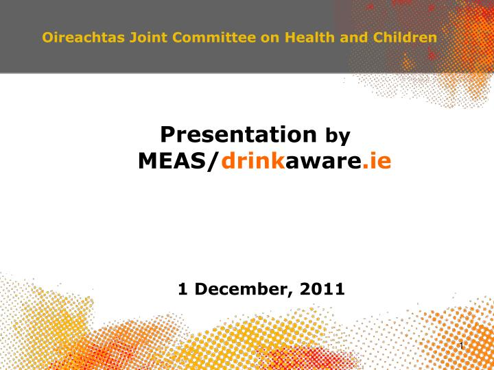 oireachtas joint committee on health and children n.