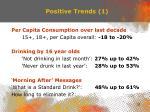 positive trends 1