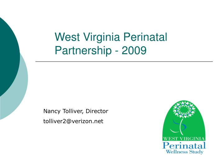 west virginia perinatal partnership 2009 n.
