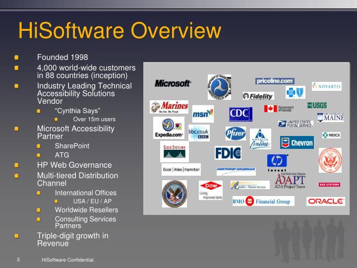 Hisoftware overview