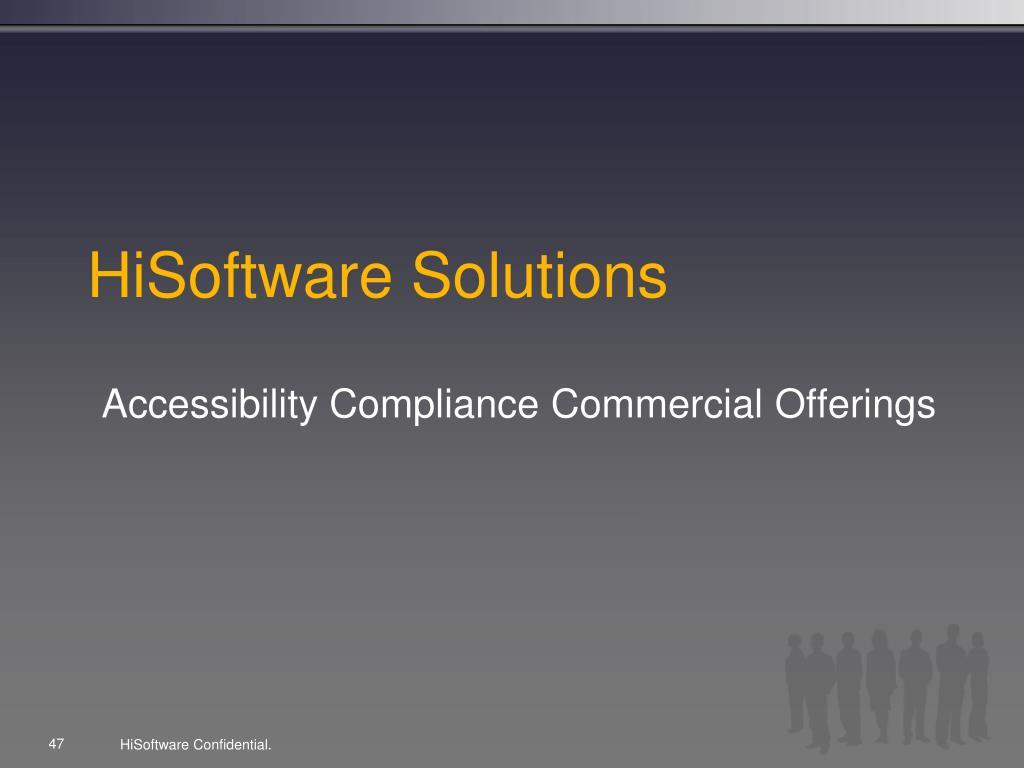 HiSoftware Solutions