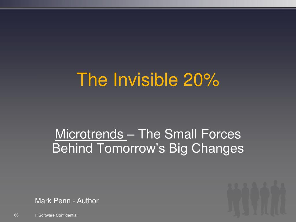 The Invisible 20%