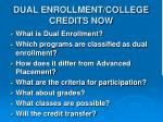dual enrollment college credits now1