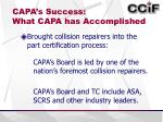 capa s success what capa has accomplished3