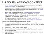 2 a south african context
