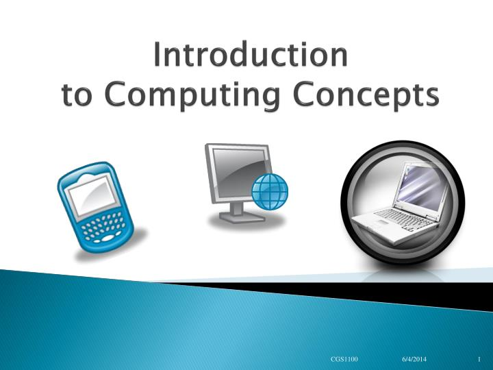 introduction to computing concepts n.