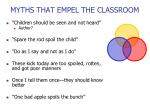 myths that empel the classroom