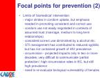 focal points for prevention 2