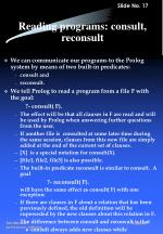 reading programs consult reconsult