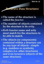 recursive data structures
