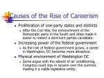 causes of the rise of careerism
