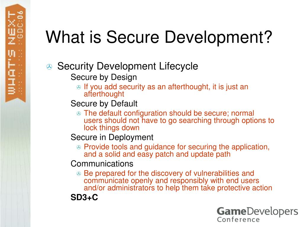 What is Secure Development?