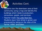 activities cont3
