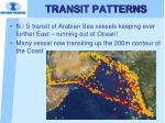 transit patterns