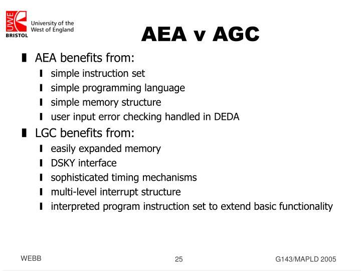 AEA v AGC
