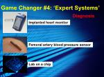 game changer 4 expert systems