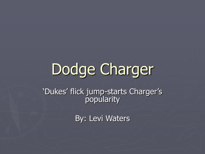 dodge charger n.