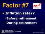 factor 7