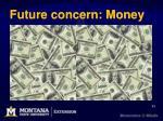 future concern money