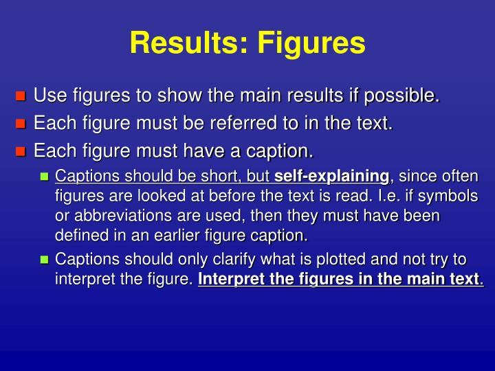 Results: Figures