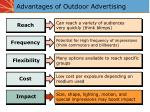 advantages of outdoor advertising