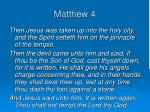 matthew 41