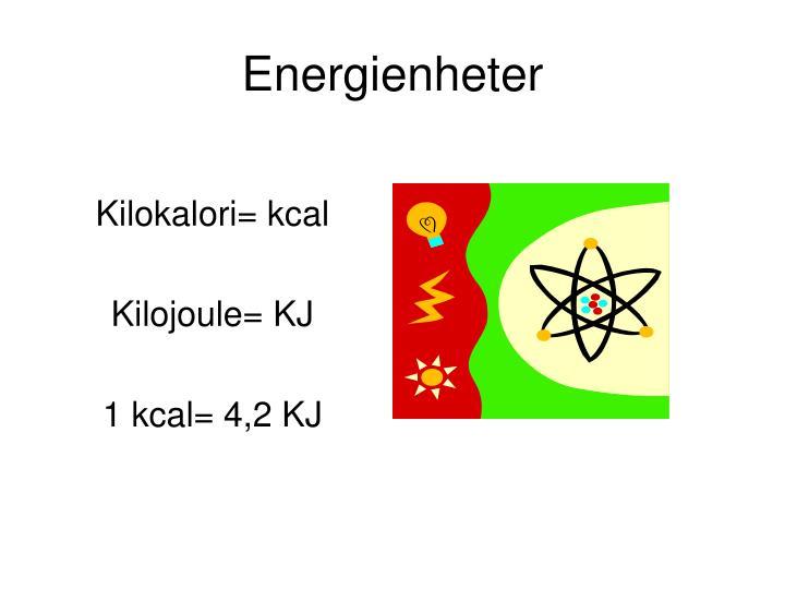 Energienheter