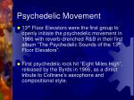 psychedelic movement